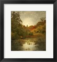 Framed Autumn Wetlands