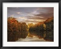 Framed October Lights