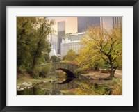 Framed Autumn in New York