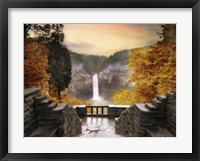 Framed Autumn at Taughannock