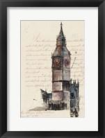 Framed Letters from Big Ben