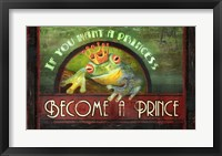 Framed Frog Prince
