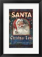 Framed Santa Brand