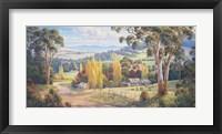 Framed Gilmore Valley Gold