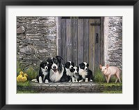 Framed Farm Animal Stable