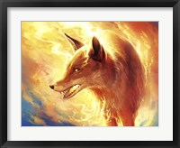 Framed Fire Fox