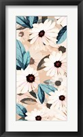 Framed Wind Daisies I