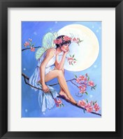 Framed Apple Blossom Fairy