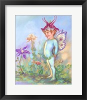 Framed Columbine Elf