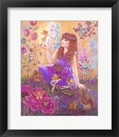 Framed Fairies In My Garden