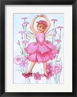 Framed Fairy Of The Pinks