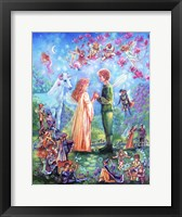 Framed Fairy Wedding