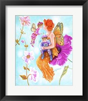 Framed Mother Fairy's Kiss