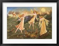 Framed Moonlit Dance