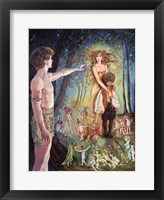 Framed Oberon And Titania