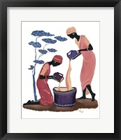 Framed Two Women Pouring