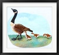Framed Mother Goose