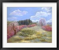 Framed Azalea Meadow