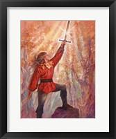 Framed Excalibur