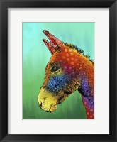 Framed Spotted Donkey 1