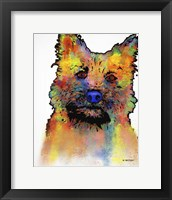 Framed Cairn Terrier 1