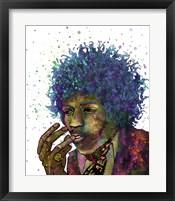 Framed Jimi Hendrix I