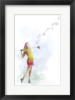 Framed Golf Player 2