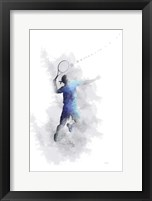 Framed Tennis Player 1