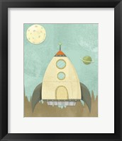 Framed Kids Spaceship