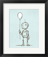 Framed Robot Balloon