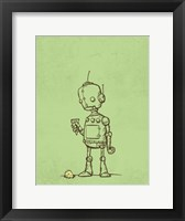 Framed Robot Icecream