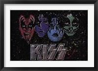 Framed KISS - Face Off Multi Color