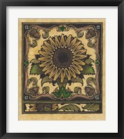 Framed Apple Sunflower 2