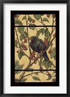 Framed Apple Raven
