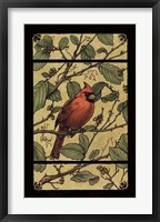 Framed Apple Cardinal