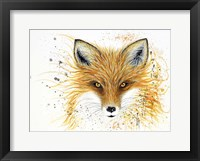 Framed Fox Fire
