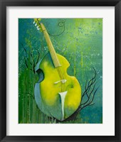 Framed Sunken Dreams Cello