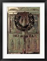 Framed Christmas Door Card