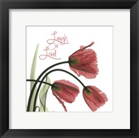 Framed Laugh Out Loud Tulips L83