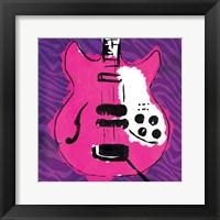Framed Girly Guitar Zoom Mate