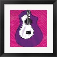Framed Girls Rule Guitar Zoom