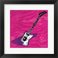 Framed Girls Rock Guitar Mate