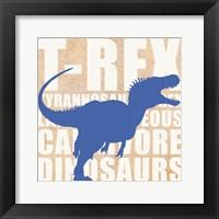 Framed Roaring TRex