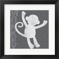 Framed Monkey