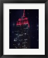 Framed Starry Night In New York