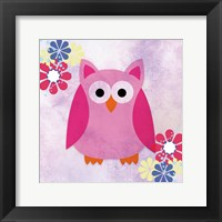 Framed Retro Owl 1