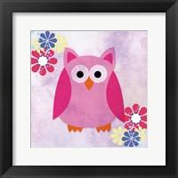 Framed Retro Owl 1