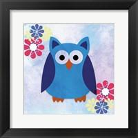 Framed Retro Owl 2