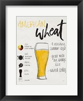 Framed American Wheat