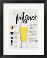 Framed Pilsner
